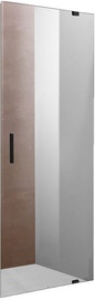 Vento Napoli Shower Door 900x1950mm Transparent/Black