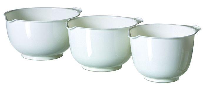 Curver Mixing Bowl Set 3PCS White