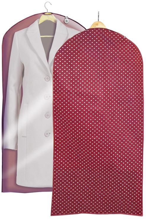 Ordinett Clothing Bag 60x135cm Bordeaux