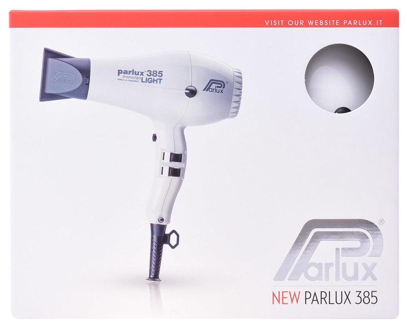 Parlux Hair Dryer 385 Power Light White