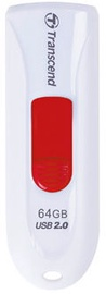USB флеш-накопитель Transcend JetFlash 590 White, USB 2.0, 16 GB
