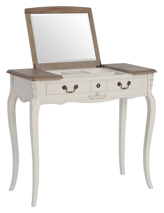 Home4you Eliazabeth Dressing Table Antique White 69594