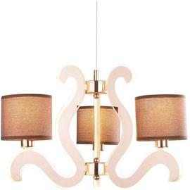 Candellux Ambrosia 3x40W E14 18.4W LED Hanging Ceiling Lamp Copper