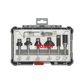 Bosch Milling Edge Cutter Kit 6pcs 8mm