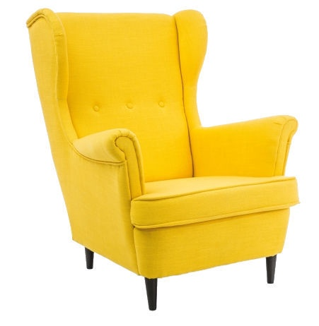 Tugitool Signal Meble Lord Yellow, 72x85x101 cm