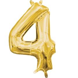 Воздушный шар Amscan NR 4, золотой, 1 шт.