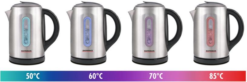 Elektriline veekeetja Gastroback Colour Vision Pro 42427, 1.5 l