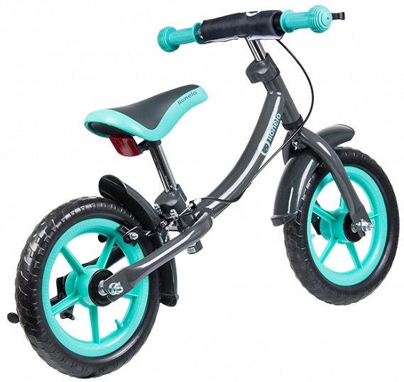 Lastejalgratas Lionelo Balance Bike DAN PLUS Turquoise