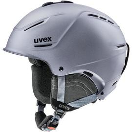 Uvex Ski Helmet P1us 2.0 Strato Metallic Matt 52-55