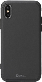 Krusell Arvika 3.0 Back Case For Apple iPhone X/XS Black