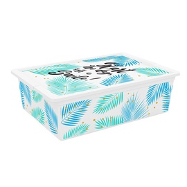 KIS C-Box Quotes Storage Box With Lid 27l