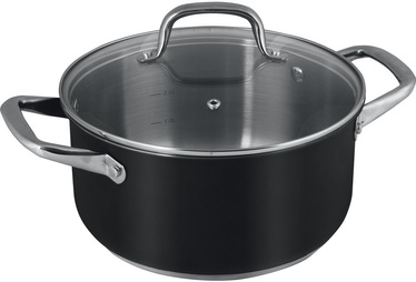 Lamart Casserole With Lid LT1149 5.5l Black