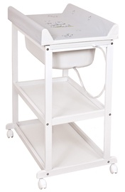 Ceba Baby Changing Station Laura Zebra Grey