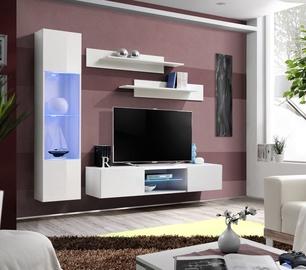 ASM Fly R3 Living Room Wall Unit Set White