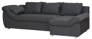 Угловой диван Bodzio Rojal Graphite, правый, 258 x 145 x 73 см