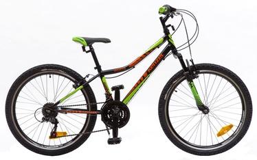 "Jalgratas Kenzel Roxis SF 33cm 24"" Black Green Red 17"