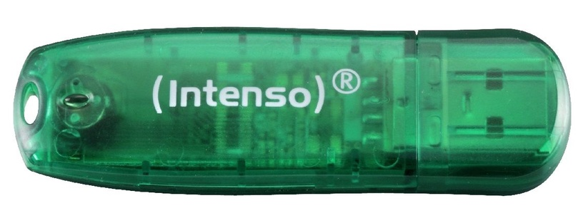 USB mälupulk Intenso Rainbow Green, USB 2.0, 8 GB