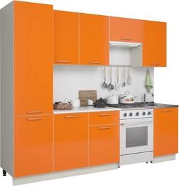 MN Kitchen Unit Simpl 2.5m Orange