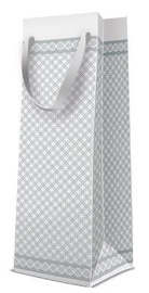 Paw Decor Collection Gift Bag Bottle Premium Modern 12x10x37cm