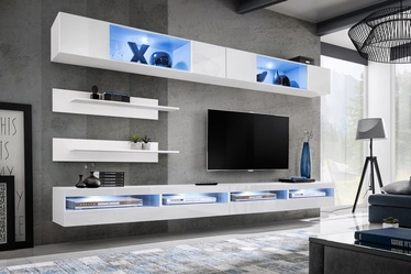 ASM Fly T6 Living Room Wall Unit Set White