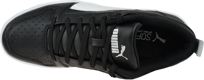 Puma Rebound LayUp SL Shoes 369866-02 Black/White 42