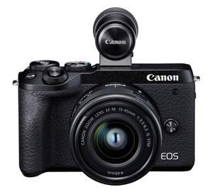 Canon EOS M6 Mark II + EF-M 15-45mm + EVF-DC2 Black
