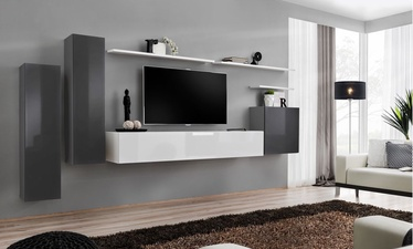 ASM Switch I Wall Unit White/Graphite