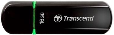 USB флеш-накопитель Transcend Jet Flash 600 Black/Green, USB 2.0, 16 GB