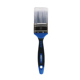 HausHalt Flat Brush RJ3348 Synthetic Black/Blue 50mm