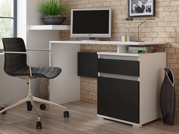 Письменный стол Pro Meble Milano PKC 105 White/Black