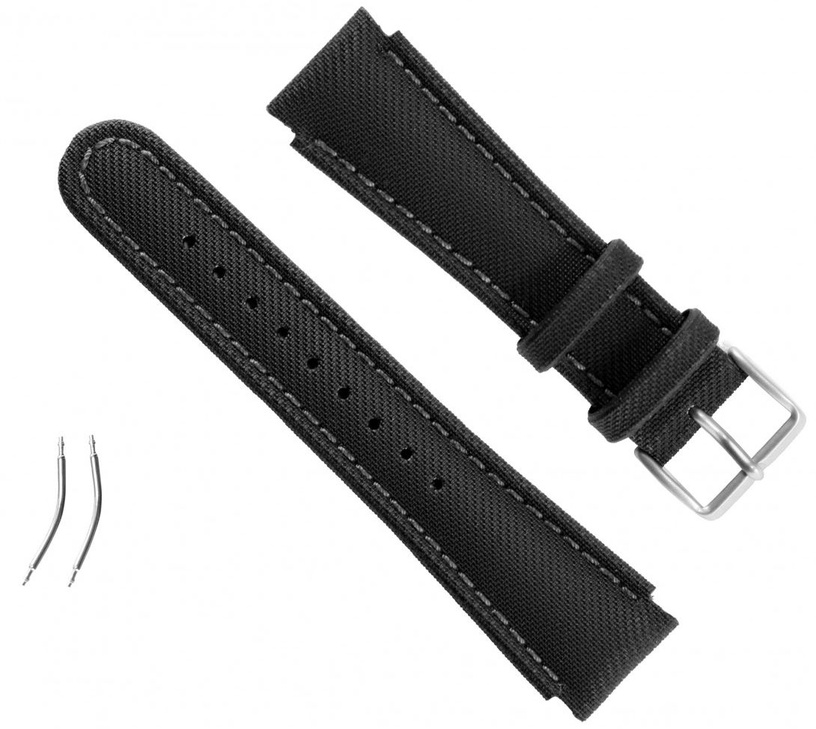 Suunto Black Synthetic Fabric Strap Kit