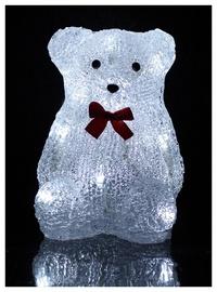 Jõulukaunistus karu XY-BL2-10B, 10 LED, 17cm