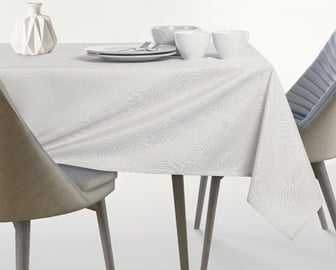 AmeliaHome Gaia AH/HMD Tablecloth Cream 155x350cm