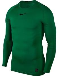 Nike Men's T-shirt Pro Top Compression LS 838077 302 Green 2XL