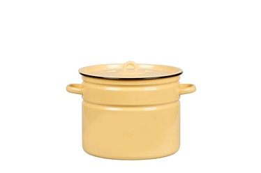 SN Enamelled Metal Pot D25cm 9l