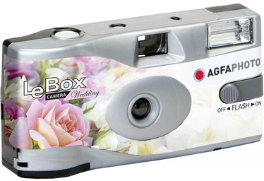 AgfaPhoto LeBox Disposable Camera Wedding With Flash