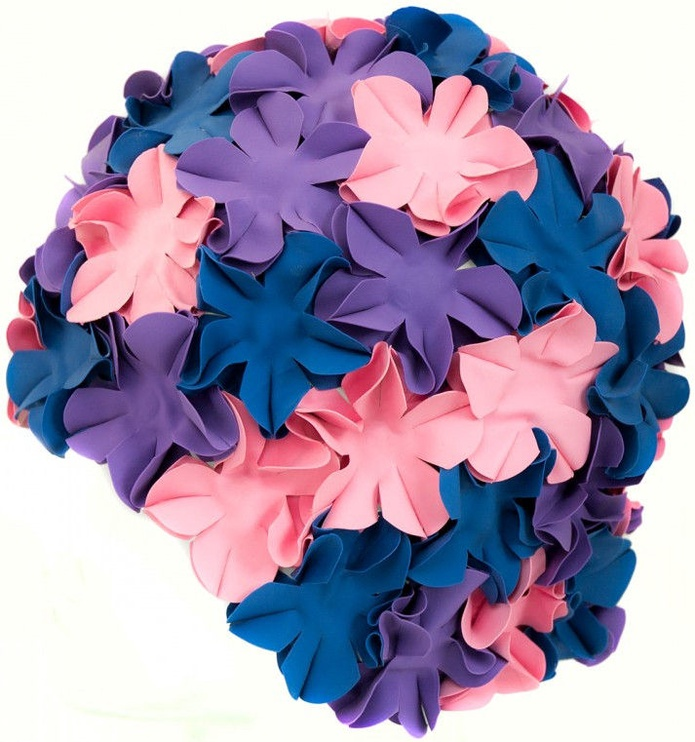 Aqua Speed Bloom 03/105 Pink Purple Navy