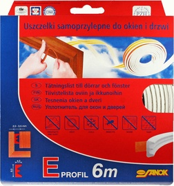 Stomil Sanok E Seals For Windows and Doors White 6m