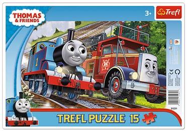 Pusle Trefl Frame Thomas and Flynn 31231, 15 tk