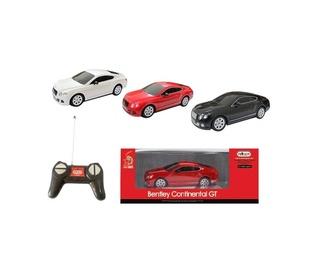 Mänguauto Bentley, punane, valge, must