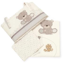 Mothercare Teddys Toy Box Bedding Set GA513 Cream