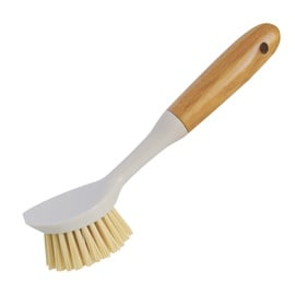 DISH BRUSH BAMBOO 041130