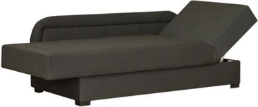 Диван-кровать Bodzio Dawid Right Graphite S2, 205 x 87 x 40 см