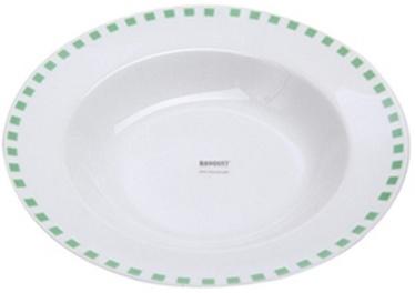 Banquet Cubito Soup Plate 21.6cm Green