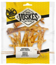 Voskes Dog Treat Chicken Feet 100g