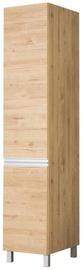 Кухонный шкаф Bodzio Monia High Narrow 40 Left Brown, 400x590x2070 мм