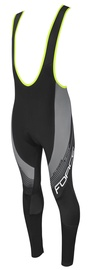 Force F8 Bibtights Black/Grey L