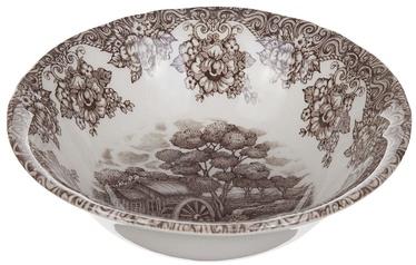 Claytan Water Wheel Bowl 15.7cm Brown