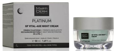 Näokreem Martiderm Platinum GF Vital Age Night Cream, 50 ml