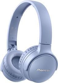 Pioneer SE-S3BT Wireless Over-Ear Earphones Blue